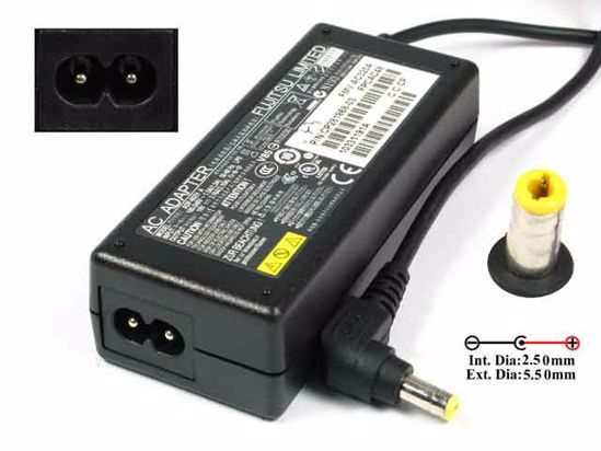originálne nabíječka adaptér Fujitsu 80W 4,22A 19V 5,5 x 2,5mm